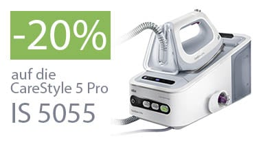 -20% auf die CareStyle 5 Pro IS 5055