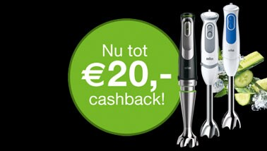 Cashback staafmixers