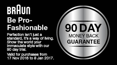 Money back guarantee on your Steam Iron purchase