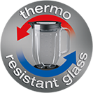 Thermo resist glass