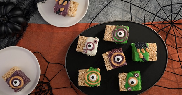 Halloween Rice Crispie Treats