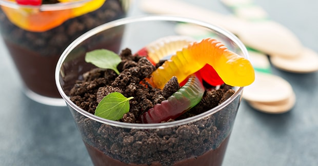 Chocolate Pudding Dirt Cups