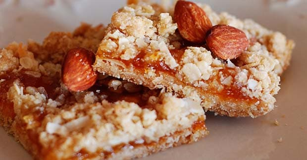 Apricot Bars Hand Blender Recipe