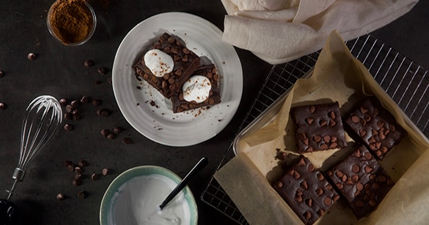 Gluten-Free Black Bean Brownies