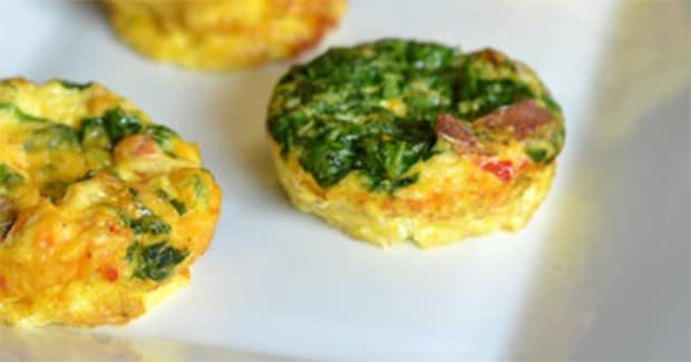 Crust-less Mini Quiche