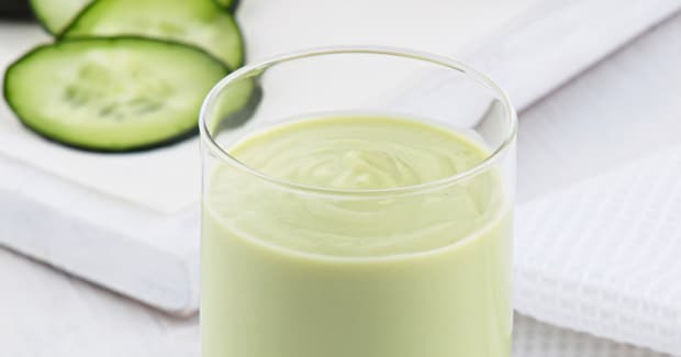 Avocado, Melon & Cucumber Smoothie
