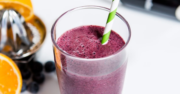 Blueberry, Ginger and Kale Smoothie Hand Blender Recipe