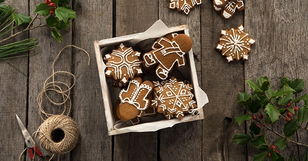 Gingerbread Cookie Pops