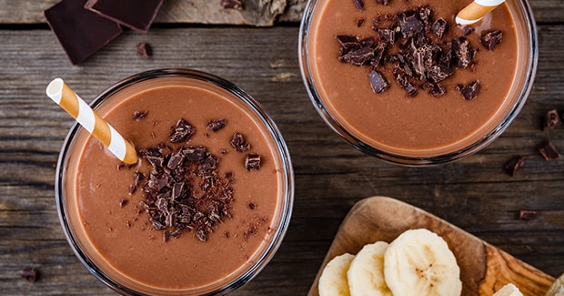 Kids Chocolate Banana Smoothie