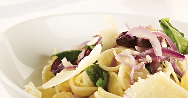 Red Onion & Feta Pasta