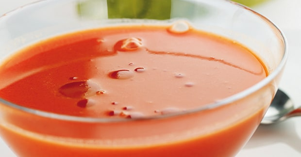 Watermelon Gazpacho Hand Blender Recipe