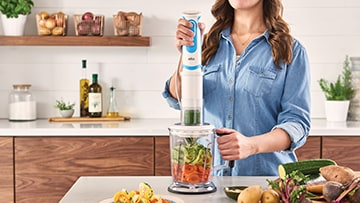 Braun MultiQuick Spiralizer & Hand Blender Recipes