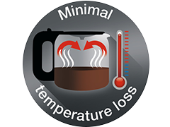 Minimal Temperature Loss