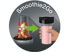 Smoothie2Go cup