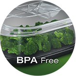 New BPA-free transparent baskets: only the best for your health