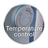 Temperature control wheel