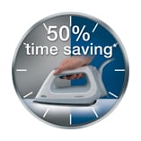 50% less time consumption