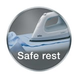 Iron safe rest
