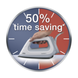 50% time saving