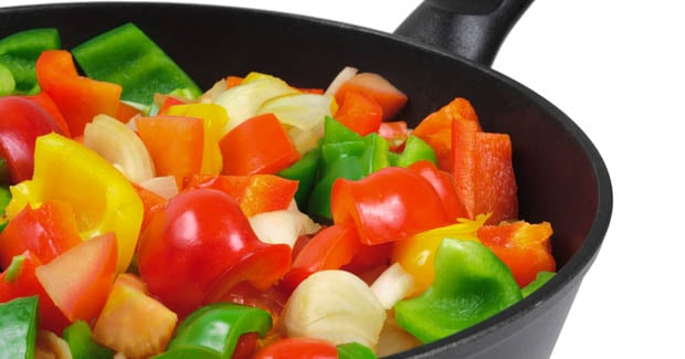 15-minute vegetable pan