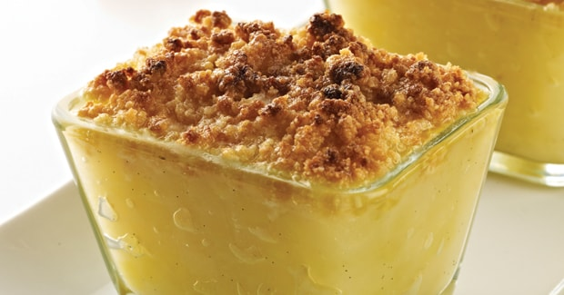 Pear, apple and ginger crumble (Marc Fosh)