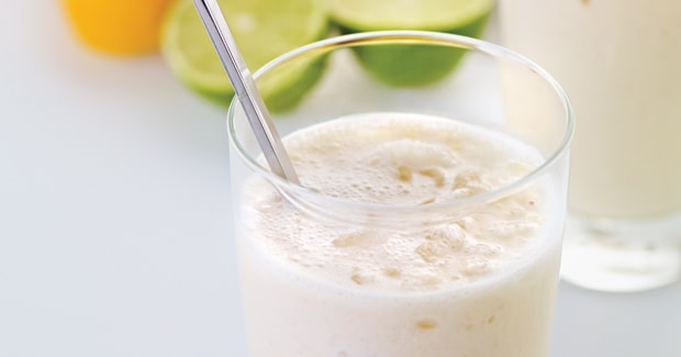 Banana, orange and ginger smoothie (Marc Fosh)