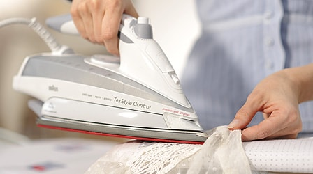 How to iron anything with a lace trim