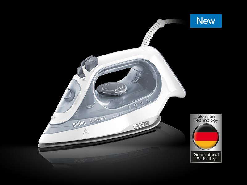 Braun Household TexStyle 3 Steam Iron SI 3054GY