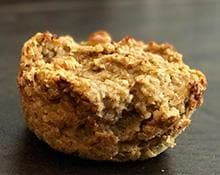 Banana Apple Breakfast Muffins