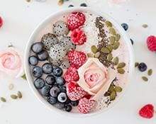 Berry Chia Smoothie Bowls