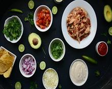 DIY Chicken Taco Bar