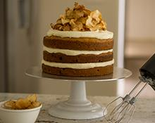 Ginger Apple Layer Cake