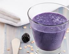Braun Blender Blackberry Breakfast Smoothie