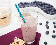 Blueberry Muffin Gluten Free Smoothie