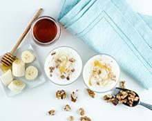 Banana Walnut Kefir Smoothie