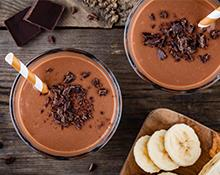 Kids Chocolate Banana Hazelnut Smoothie