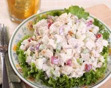 Toasted Pecan & Apple Chicken Salad Hand Blender Recipe