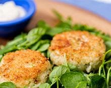 Crab Cake Hand Blender Recipe