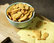 Gluten-Free Homemade Goldfish Crackers Recipe