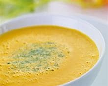 Spiced Carrot & Lemongrass Soup