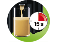 Fast juicing system