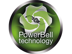 Patented PowerBell technology
