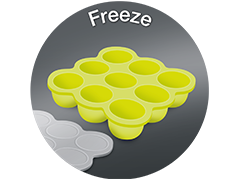 Freezer container by Mushy Mushy