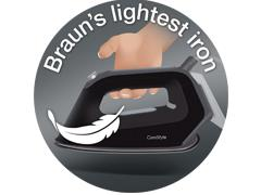 Braun's lightest iron