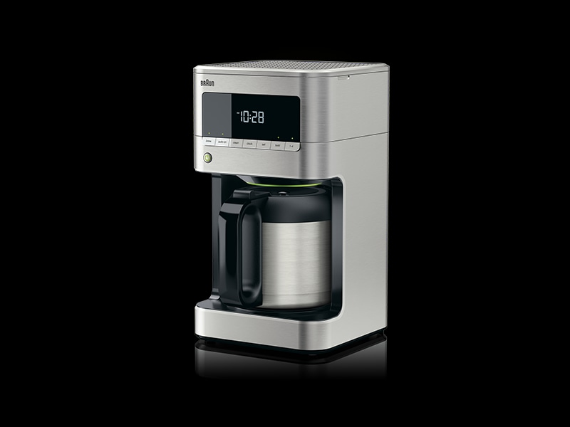 Braun Drip Coffee Maker : BrewSense Drip Coffee Maker with Thermal Carafe - 10 Cup - KF7175 BRAUN
