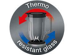 Thermal resistant glass pitcher (56 fl. oz.)
