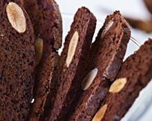 Chocolate and almond biscotti (Marc Fosh)