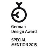 Нагорода German Design Award — за дизайн 2015 року