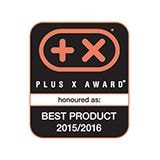 Ocenění Plus X Best Product 2015/2016