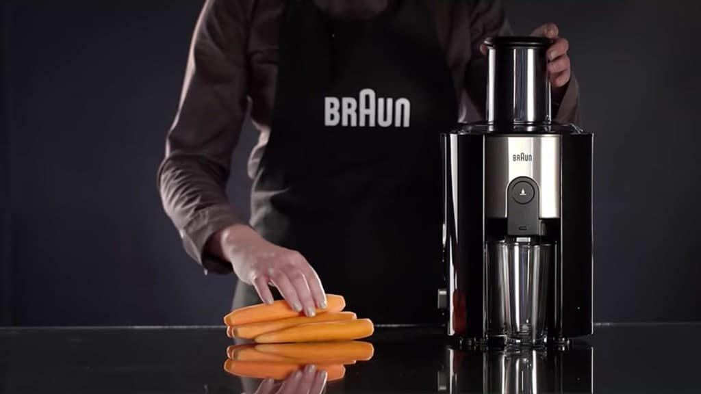 Watch the video: Braun IdentityCollection spin juicer J 500
